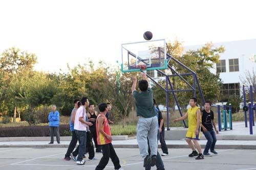 皓远十五周年庆典篮球比赛(图一)